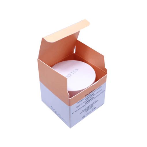 Cream boxes