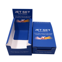 Retail counter display boxes