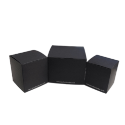 black candle packaging box