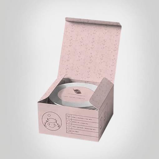 Custom Cream Box Printing