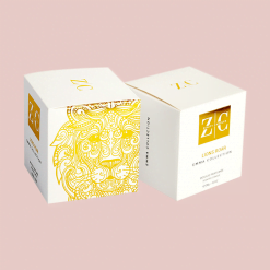 Gold foil packaging