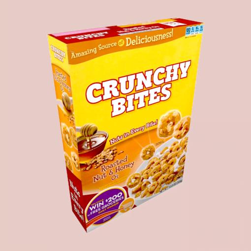 breakfast cereal packaging