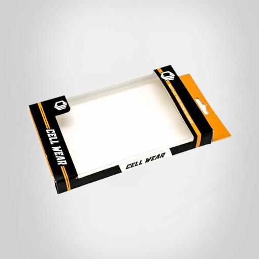 custom Hang tab packaging boxes