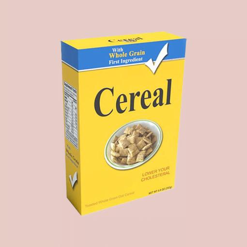 mini cereal boxes