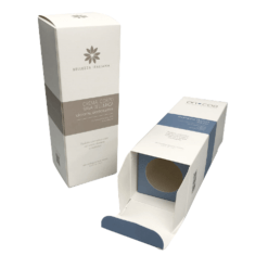 cosmetic serum bottle box