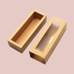 kraft cookie boxes with window