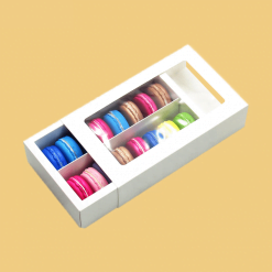 small cookie boxes with window