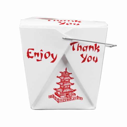 Chinese take out containers