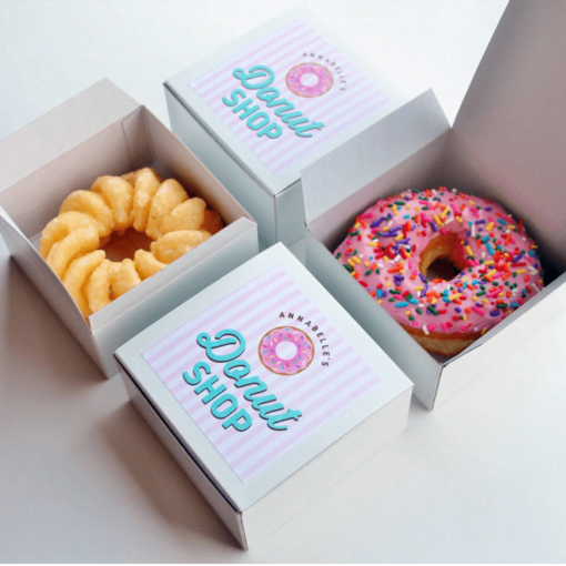 individual donut boxes